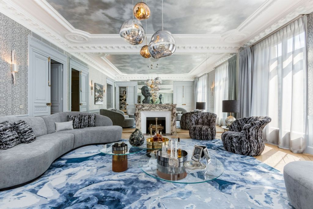 luxury apartment 6 rooms for sale on PARIS (75008)