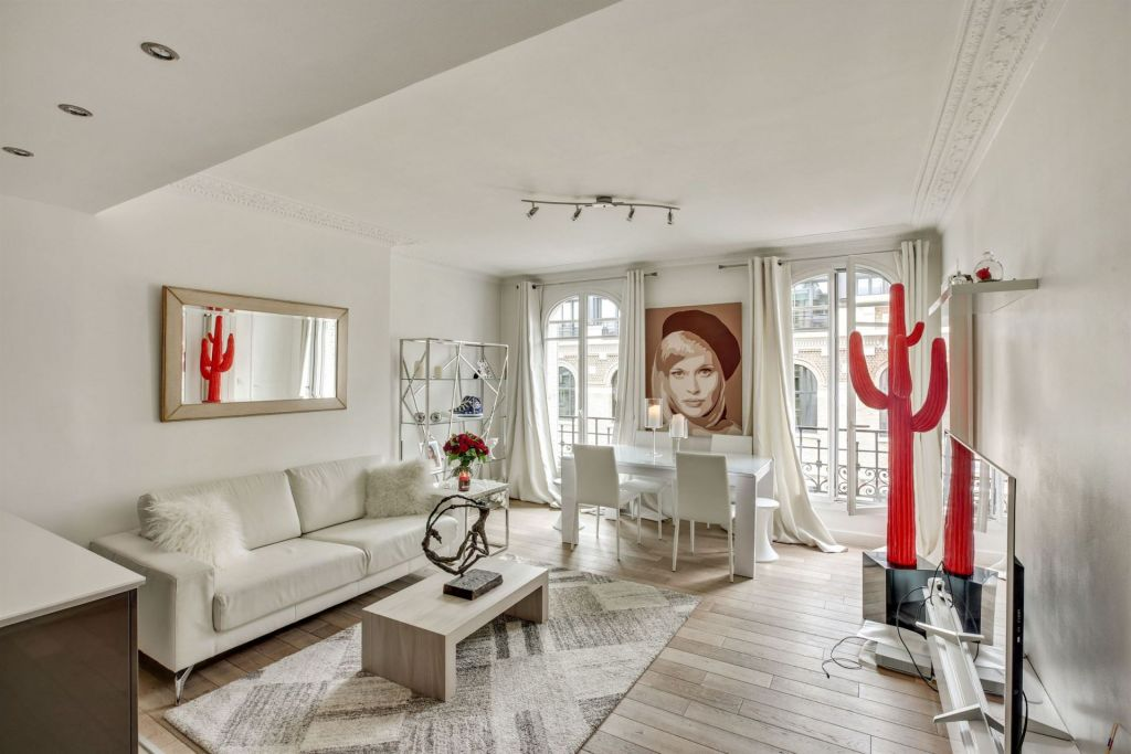 luxury apartment 4 rooms for sale on PARIS (75017)