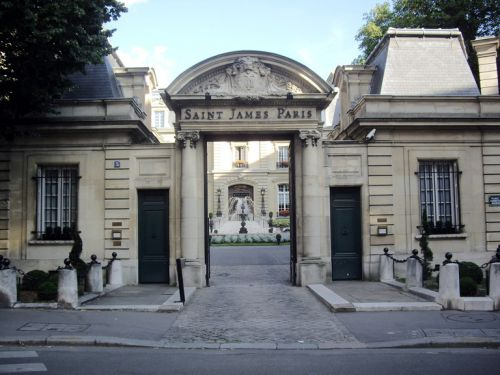 Hôtel - Saint James Paris
